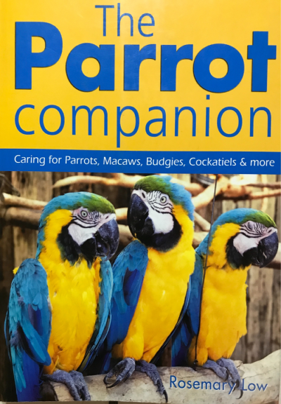 Front cover of the book The Parrot Companion by Rosemary Low
